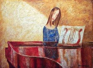 red piano dina shubin
