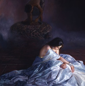 Jia Lu 1998, oil on canvas, x inches