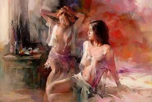 Willem Haenraets 1940 - Hollandaise Impressionist painter - Tutt'Art@ (4)