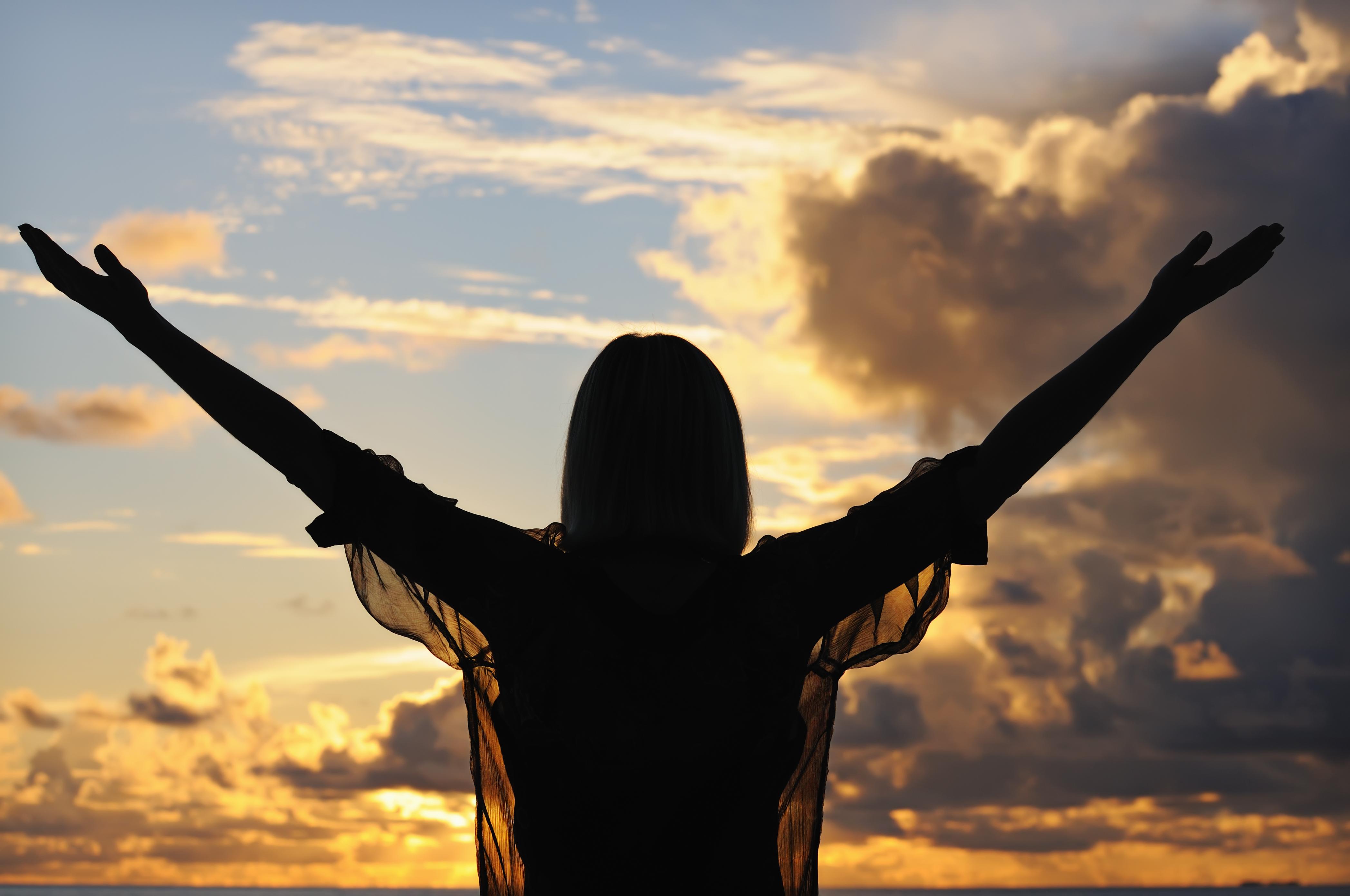Возношу своим руки к небу