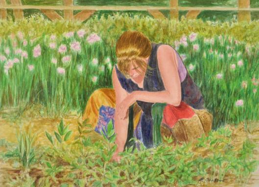 woman-gardening-phyllis-tarlow