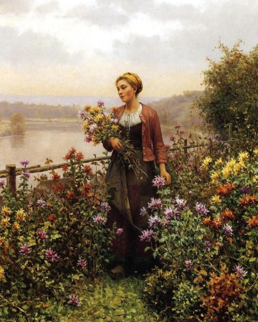 Woman-in-a-Garden