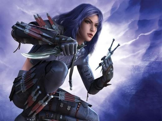Lady-Warrior-By-Robbreptile-520x390