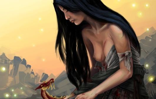 art-mulan-devushka-drakon