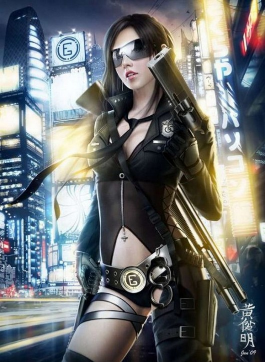 Cyberpunk-City