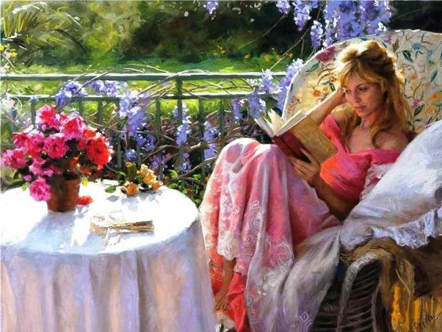 reading_in_the_garden-974697