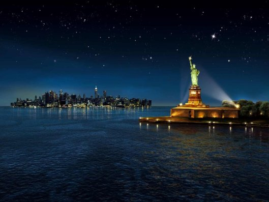 Statue-Of-Liberty-Wallpaper-At-Night-02
