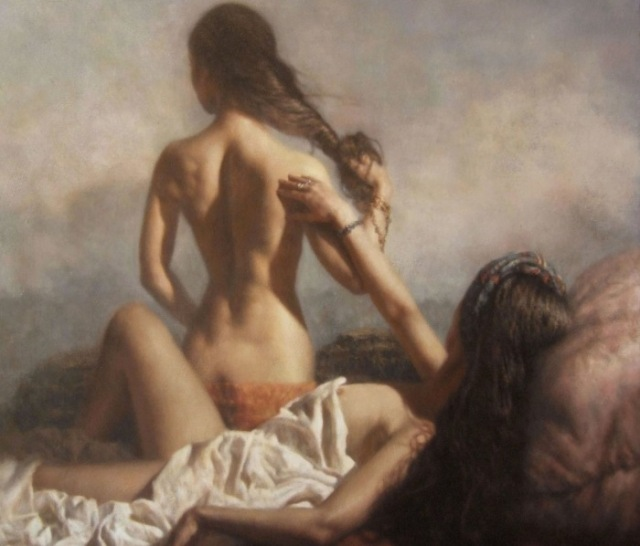Female+Nude+Portrait+-+Hamish+Blakely+-+British+Figurative+painter+-+Tutt%27Art@+%289%29