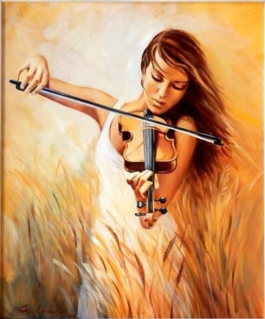 Distinctive-Modern-Handcraft-oil-painting-on-canvas-font-b-ART-b-font-font-b-violin-b