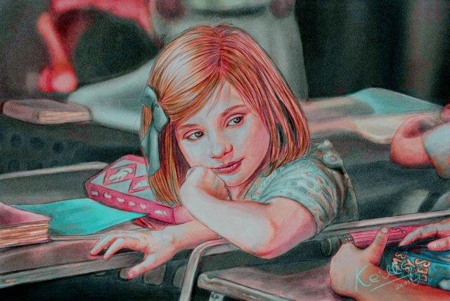 digital_painting_girl_school_by_keillly-d3l667r