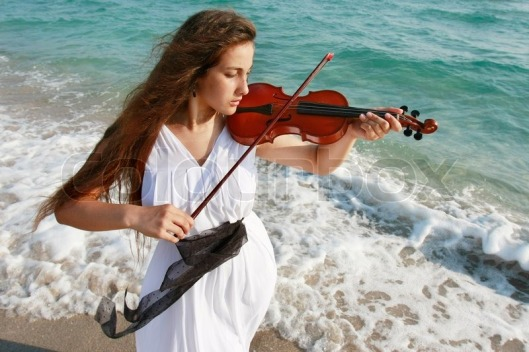 4650003-young-attractive-woman-playing-violin-on-sea-background