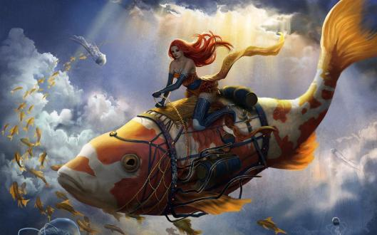 koi_rider_art_fish_woman_girl_digital_cg_hd-wallpaper-1682072