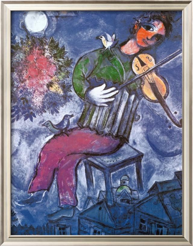 The Blue Violinist-2