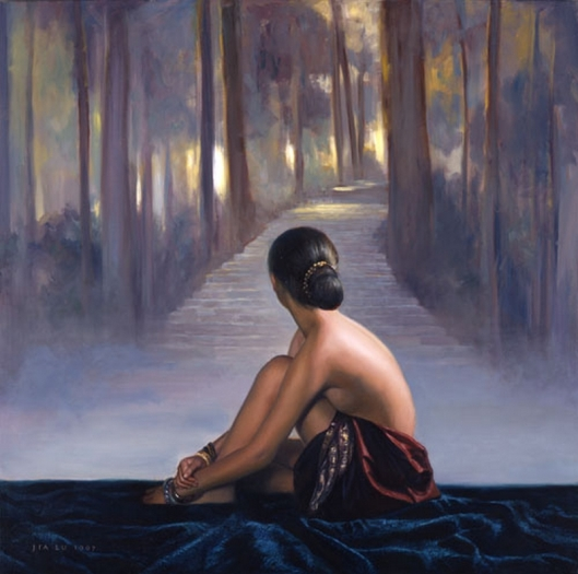 Jia Lu 1997, oil on canvas, x inches